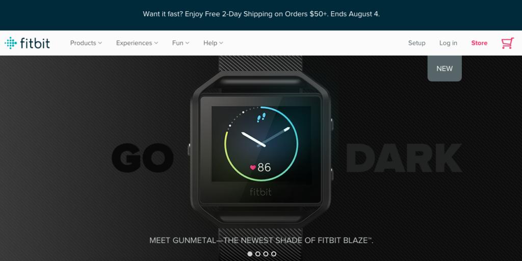 Fitbit website