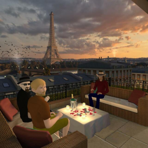 The Octalysis Group meeting in Virtual Reality Paris