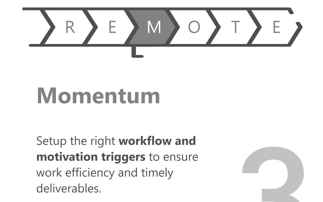 Remote work Momentum