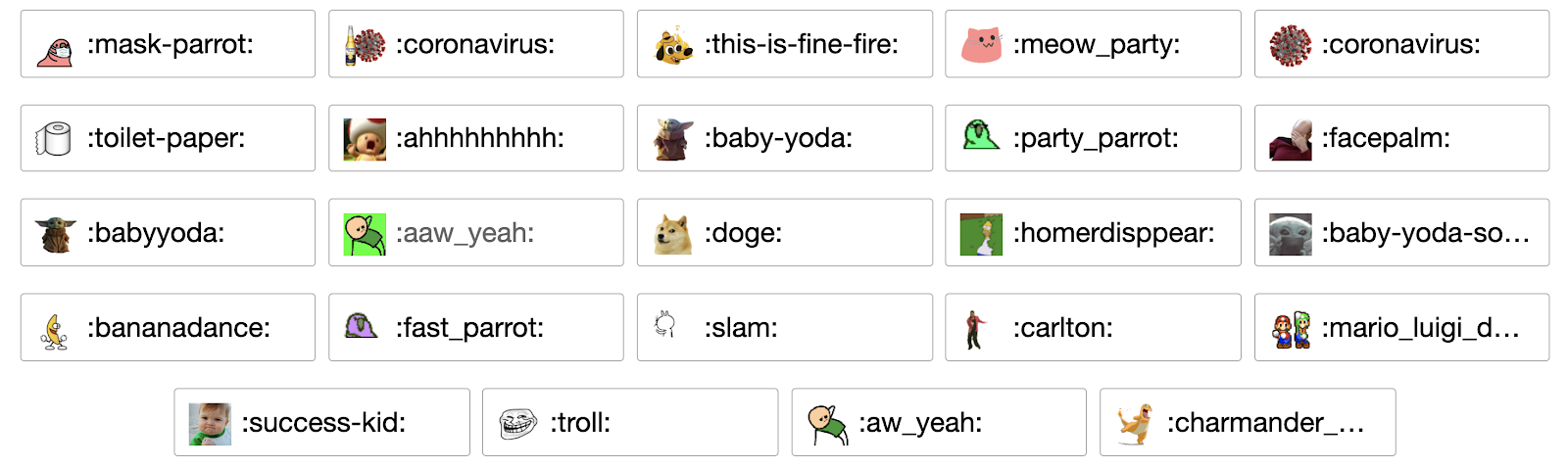 Emoji Remote Work