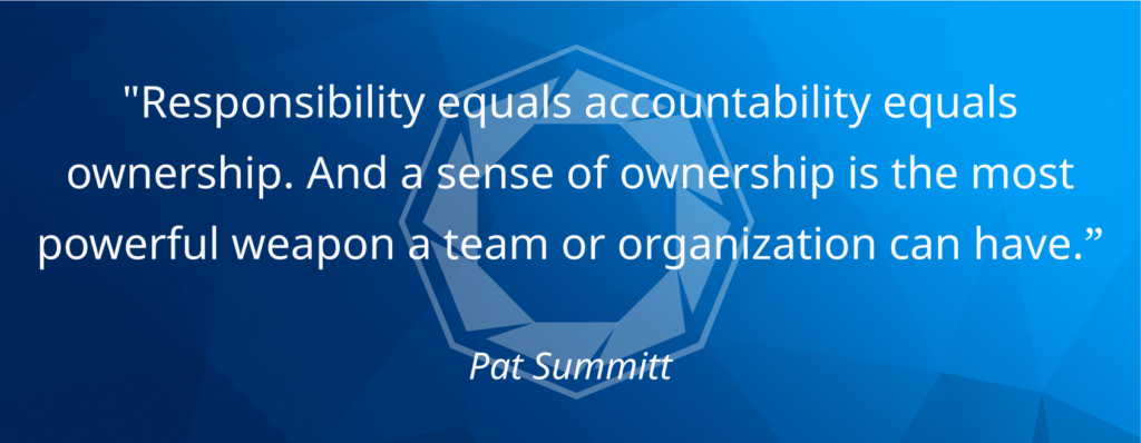 fun at work quote Pat Summitt Core Drive 4 Ownership and Possession Octalysis