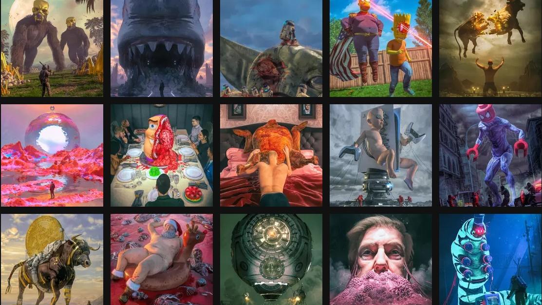 Beeple's digital artwork sells for $69 million as an NFT - htxt.africa